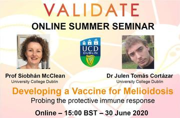 Developing a vaccine for Melioidosis: Probing the protective immune response