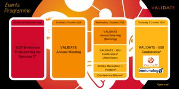 VALIDATE Annual Meeting - Programme Summary