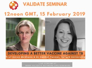 VALIDATE seminar - Developing a better vaccine against TB